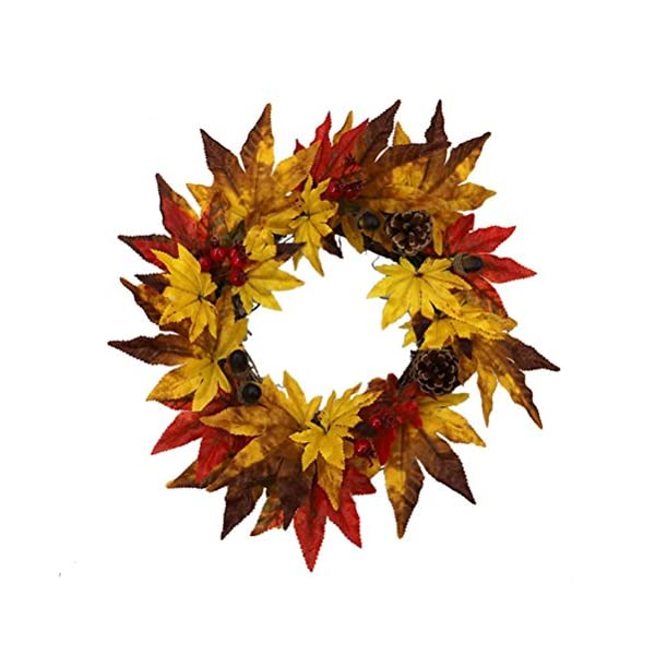 Artificial-Flowersvmree-Christmas-Thanksgiving-Day-Berry-Maple-Leaf-Fall-Large-Wreath-Ornament-Garland-Decoration-Door-Wall-Garden-Office-Bridle-Wedding-Floral-Decor