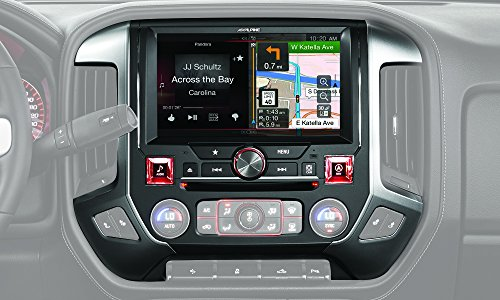 Alpine X110-SRA 10-Inch In-Dash Restyle System for 2014-Up GMC Sierra Trucks by Alpine