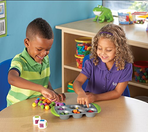 51ZgLRsQWzL - Learning Resources Mini Muffin Match Up Counting Toy Set, 77 Pieces