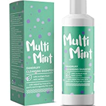 Volumizing Shampoo for Dandruff & Hair Loss with Peppermint Oil for Hair Growth + Lice Repellent - Natural Clarifying Shampoo for Oily Hair & Scalp - Tea Tree Dandruff Treatment for Women & Men