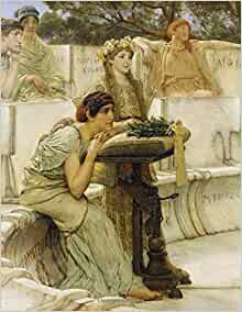 Lawrence Alma Tadema Sketchbook 17 Sketchbooks For Artists Adults And Kids To Draw In 8 5x11 100 Blank Pages Sappho And Alcaeus Detail Cool Artist Gifts Lawrence Alma Tadema Gifts Twisted City 9798656807913 Books