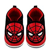 Baby Boys' Marvel Spider-Man Crib Shoes - Red and Black 3-6 Months