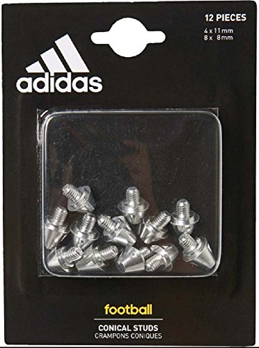 Conical Football Studs (4x11mm, 8x8mm) by adidas