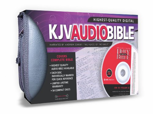 Amg Sample Cd (Complete Narrated Bible-KJV)