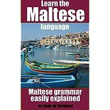 Learn the Maltese language: Maltese grammar easily explained