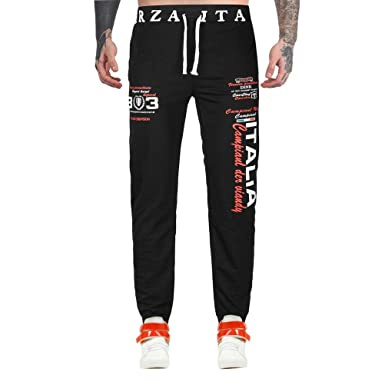 Pantalones Hombre,❤Dorame❤ Hombre Pantalones de Chándal Casual ...
