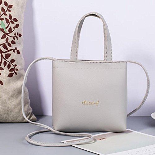 handbag Gray Fashion Mini Purse Bag Phone Bag EUzeo Bag Mobile Women Crossbody Messenger q4fRttwxg