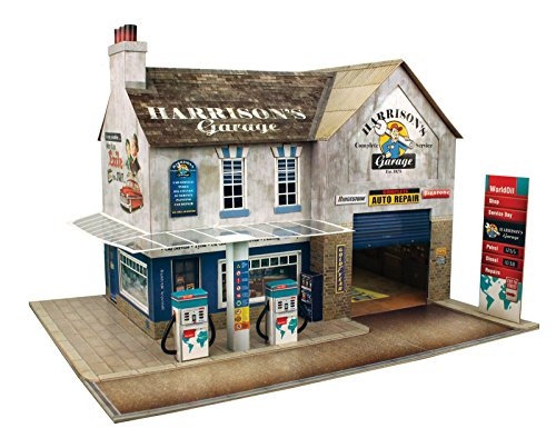 The CityBuilder O Gauge 7mm 1:48 Scale Model Railroad Building Garage & Shop Kit from The CityBuilder