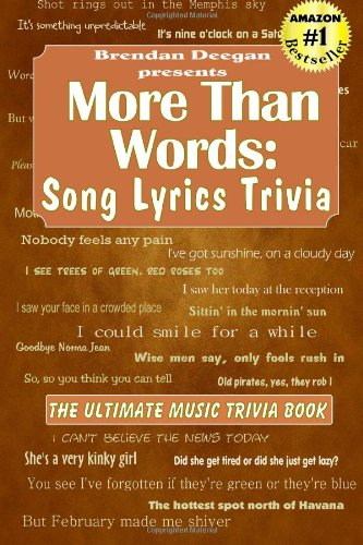 More Than Words: Song Lyrics Trivia (Lyrics Singing Song)