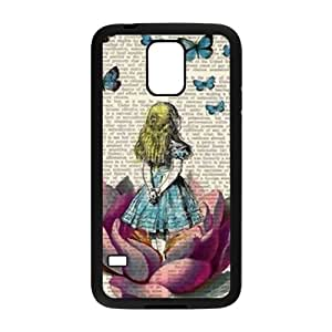 KORSE Lovely butterfly girl Cell Phone Case for Samsung Galaxy S5