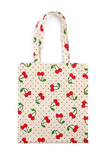 Cherry Tote Bag - 5