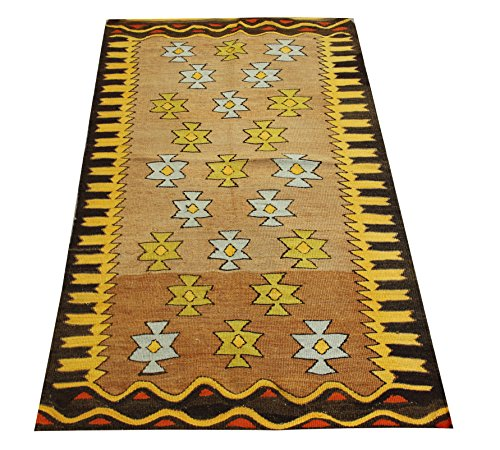 Oriental Small Kilim rug 3,9x2,4 feet Area rug Old rug Nomadic Kilim Rug Throw kilim rug Floor Kilim Rug Turkish Rugs Room Decor