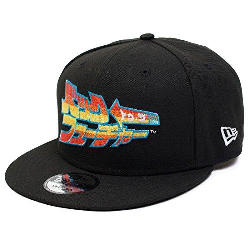 BAIT X Back To The Future X New Era Japanese Snapback Cap (Black)