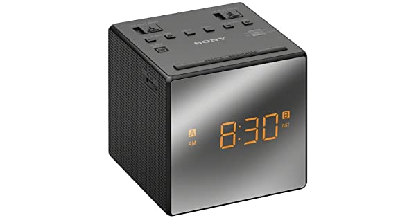Amazon.com: Sony ICFC1T, reloj alarma con radio na Negro ...