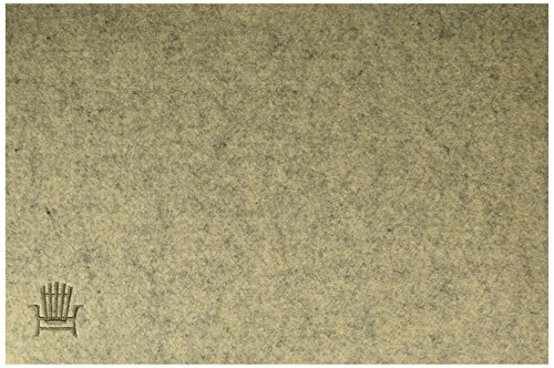 (Abbott Collection 1227-Cabin/Mat Sand Placemat with Stitched Chair)