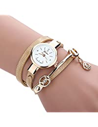 FEITONG 2016 Fashion Women Bracelet	 Strap Watch Wristwatch