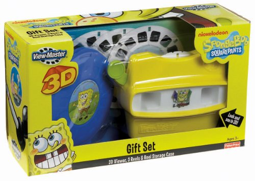 Fisher-Price SpongeBob SquarePants View-Master 3D Gift Set by Nickelodeon (Image #1)