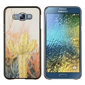Stuss Case / Funda Carcasa protectora - Cactus Desert Sun Espinas Plantas Naturaleza - Samsung Galaxy E7 E700