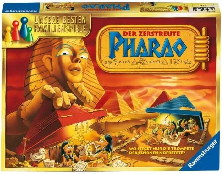 Ravensburger 26426 Der zerstreute Pharao - Juego de Mesa sobre Egipto [Importado de Alemania]: Amazon.es: Juguetes y juegos
