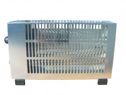 HPV Zelt- / Campingheizung 1, 7 kW Aluminium inkl. Schlauch + Regler Gasprofi24