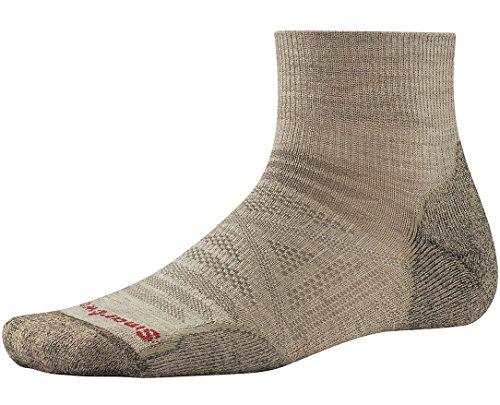 Smartwool Men's PhD Outdoor Light Mini Socks (Oatmeal) Medium