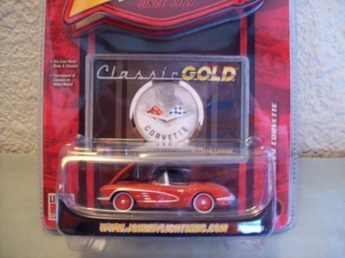 Johnny Lightning Classic Gold R33 1958 Chevy - Corvette 1958 Chevy