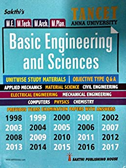 tancet anna university basic engineering and sciences exam guide for rh amazon in Basic Electrical Study Guide Electrician Exam Study Guide