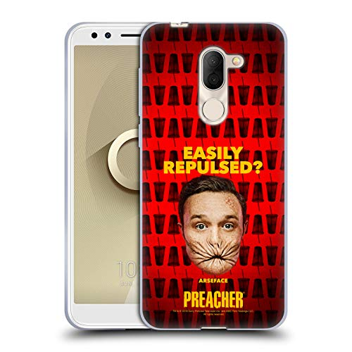 Official Preacher A Face Season 3 Character Art Soft Gel Case for Alcatel 3X (2018)