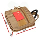 LefRight Khaki Tactical Backpack Molle Fatty Pocket