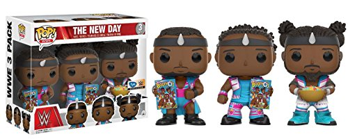 Funko POP WWE: The New Day – Special Edition Booty O's 3 Pack – FYE Exclusive by Funko