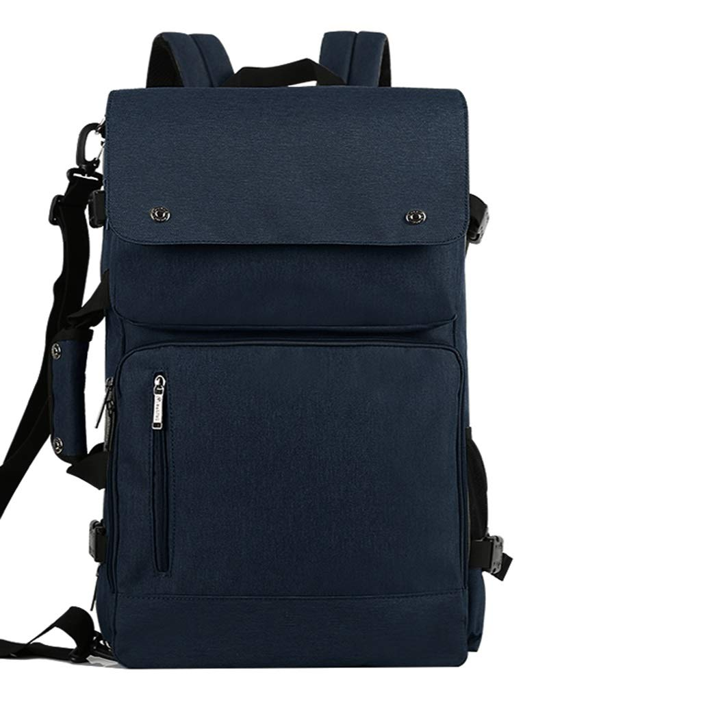 Blau 18cm×31cm×54cm XF Reise-Schulter-Laptop-Beutel-Wasserdichte Breathable Geschäftsreise-Multifunktionsrucksack-Reise, die Bergsteigen kletternder Klettern-Camping-Rucksack wandert