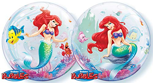 Ballooney's~Disney's Ariel the Little Mermaid Bubble Balloon ()