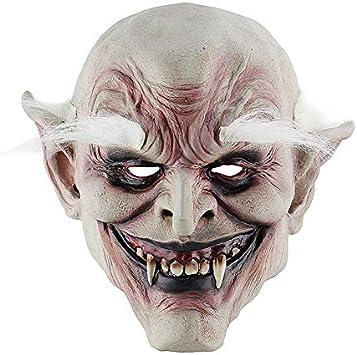 HDNSA Disfraz para adultos Máscara de cuerno Máscara de viejo ...