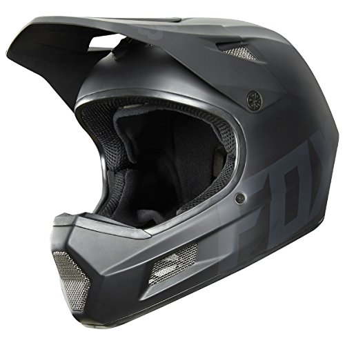 Fox Racing Rampage Comp DH Helmet: Matte Black MD - Bicycle Helmet Racing