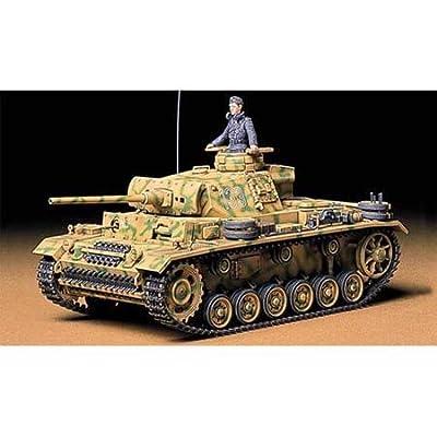 Tamiya America, Inc 1/35 Pz.Kpfw. III Ausf. L, TAM35215: Toys & Games