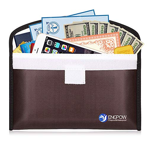 (Fireproof Cash Envelope System for Budgeting and Saving Money Budget Keeper 10.2