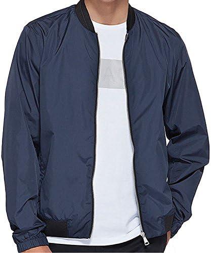 メンズ ウインドブレーカージャケット超軽量 アウト 無地 薄手 メンズ ジャケット春秋 (M-3XL) (グレー(M))