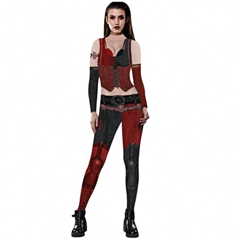 K2 Disfraces de Halloween para Mujeres, Traje de Payaso de ...