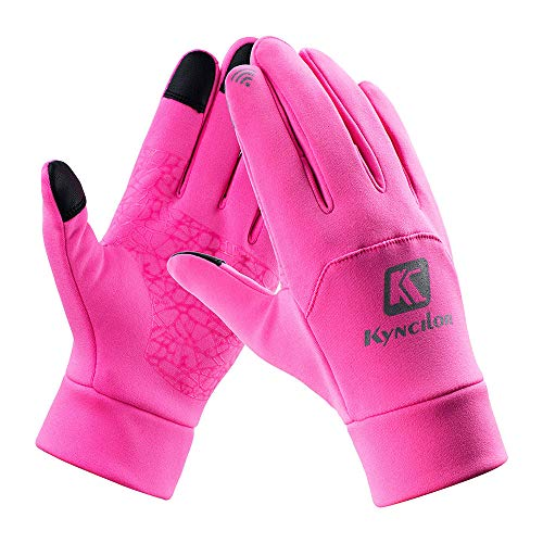 BingYELH Touch Screen Gloves for Women, Cold Weather Windproof Thermal Glove for Smartphone Texting Cycling Gloves ()