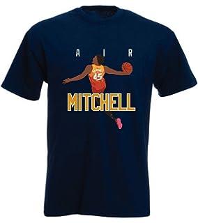 Amazon.com   500 LEVEL Donovan Mitchell Shirt - Vintage Utah ... e64cfde44