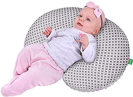 Lulando Minky - Cojín de lactancia (55 x 42 cm) para bebés y ...
