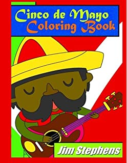 Cinco de Mayo Coloring Book (Spanish Edition)