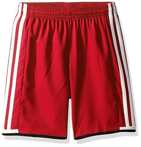adidas Youth Soccer Condivo 16 Shorts, Power Red/White/Black, Medium