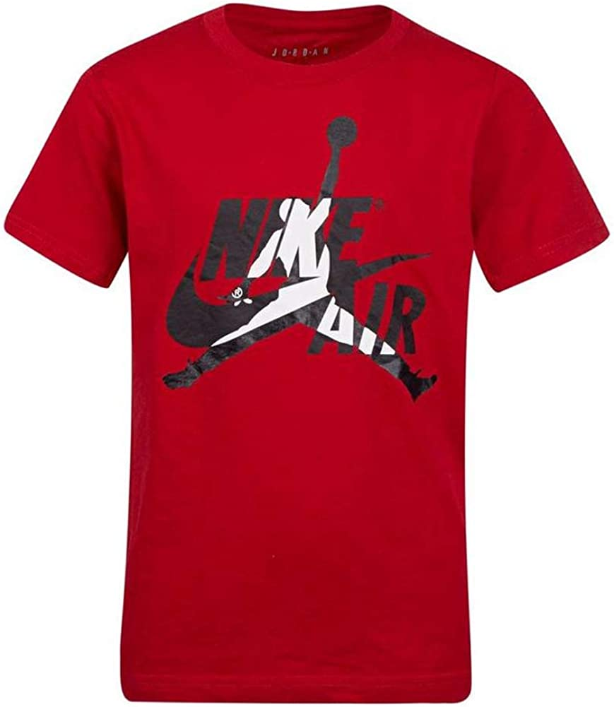 Nike Air Jordan Big Boys Jumpman playera de manga corta Jordan - Rojo - Small: Amazon.es: Ropa y accesorios