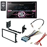 HUMMER 2003 - 2007 H2 CAR RADIO STEREO CD PLAYER DASH INSTALL MOUNTING KIT HARNESS - PACKAGE DEAL