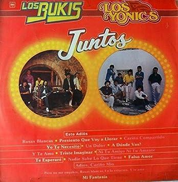 LOS BUKIS Y LOS YONICS JUNTOS-ESTE ADIOS-FALSO AMOR-TE ESPERARE-CBS