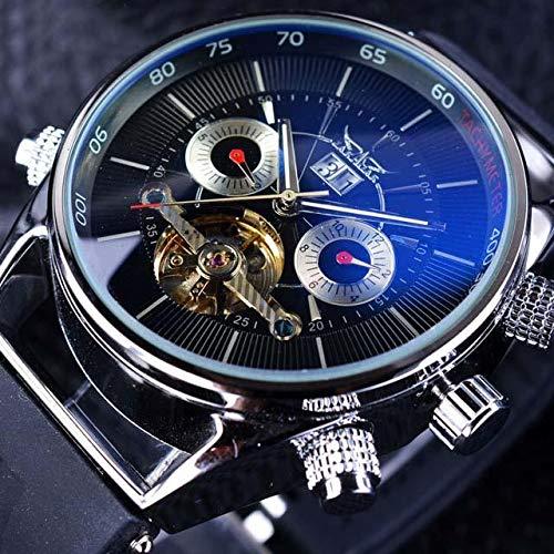 Sconosciuto Generic JARAGAR gmt960 Calendario Relojes Mecánicos Automáticos
