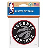"TORONTO RAPTORS OFFICIAL LOGO 4""x4"" COLOR DIE CUT DECAL"