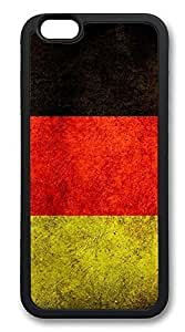 iPhone 6 Plus Cases, Tattered German Flag Durable Soft Slim PC Case Cover for iPhone 6 Plus 5.5 inch Screen (Does NOT fit iPhone 5 5S 5C 4 4s or iPhone 6 4.7 inch screen) - PC Black by ruishername