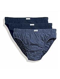 Fruit of the Loom mens Fruit of the Loom Mens Classic Slip 3 Pack Underwear